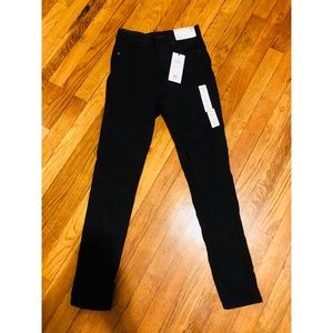 Uniqlo Ultra Stretch High Rise Black Ankle Jeans